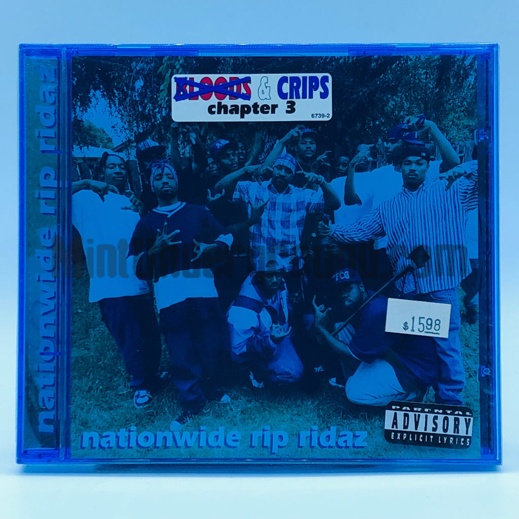 Bloods & Crips: Nationwide Rip Ridaz: CD