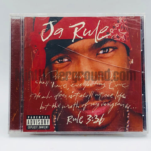 Ja Rule: Rule 3:36: CD