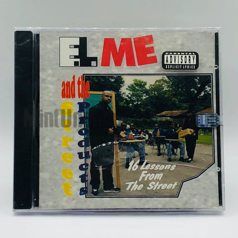 E.L. Me and The Street Products: 16 Lessons From The Street: CD