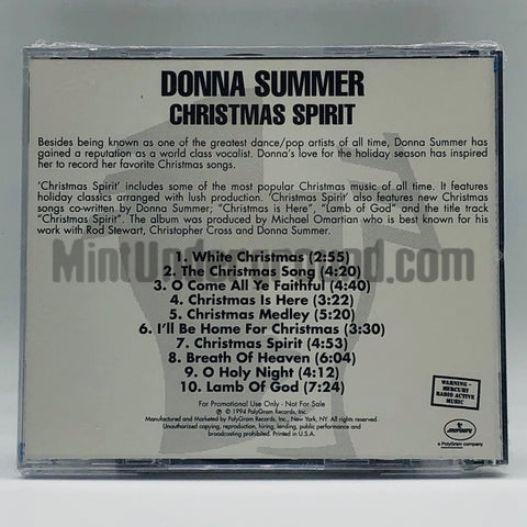 Donna Summer: Christmas Spirit: CD