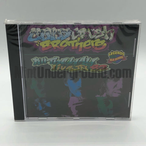The Cold Crush Brothers: Live In 82: CD