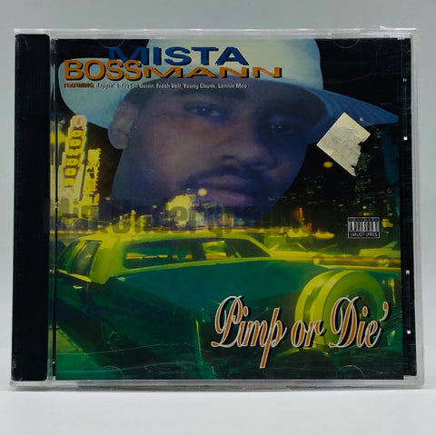 Mista Boss Mann: Pimp Or Die: CD