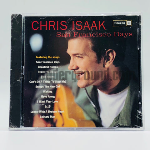 Chris Isaak: San Francisco Days: CD
