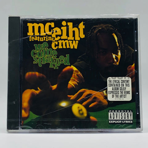 MC Eiht featuring CMW: We Come Strapped: CD