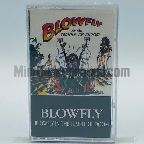 Blowfly: Blowfly In The Temple Of Doom: Cassette