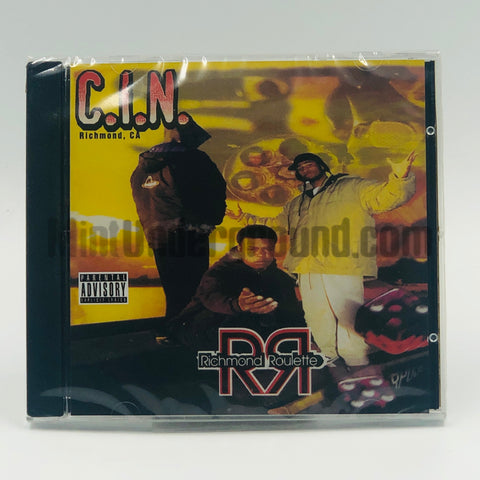 C.I.N./CIN (Criminal Industry Of Niggas): Richmond Roulette: CD
