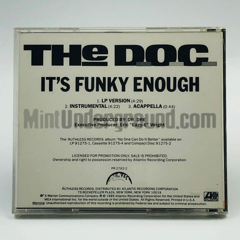 The D.O.C./The DOC: It's Funky Enough: CD Single