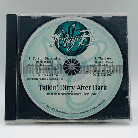 Money-B/Money B: Talkin' Dirty After Dark/Ice Cream Love/The Geto: CD Single