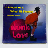 Monie Love: In A Word Or 2/Wheel Of Fortune: CD Single
