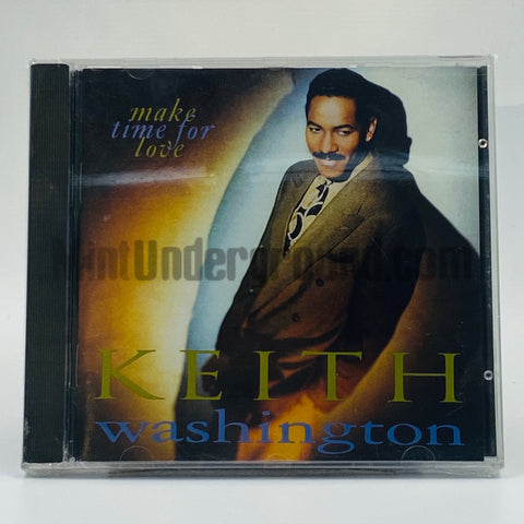 Keith Washington: Make Time For Love: CD