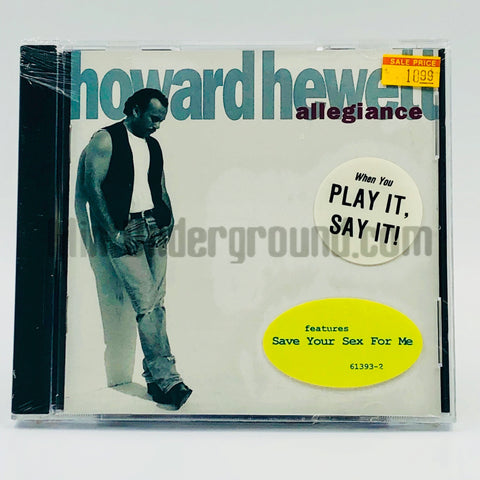 Howard Hewett: Allegiance: CD