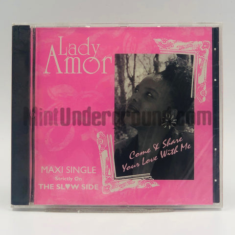Lady Amor: Come And Share Your Love With Me: CD Single