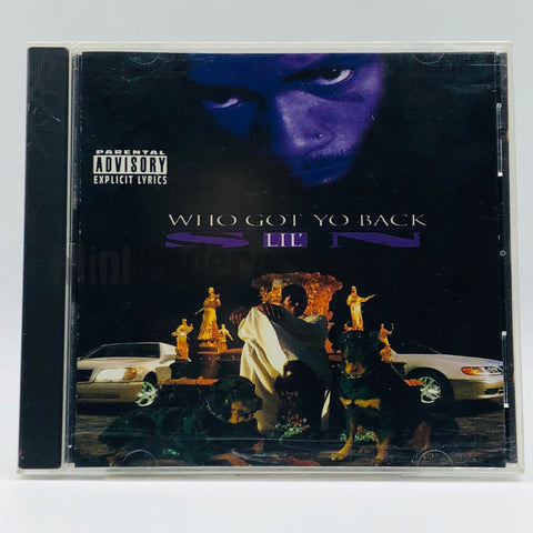 Lil' Sin: Who Got Yo Back: CD