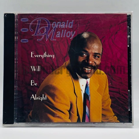 Donald Malloy: Everything Will Be Alright: CD