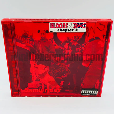 Bloods & Crips: Damu Ridas: CD