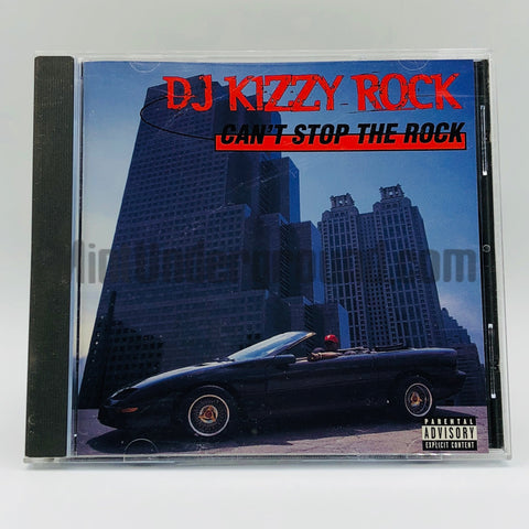 DJ Kizzy Rock: Can't Stop The Rock: CD