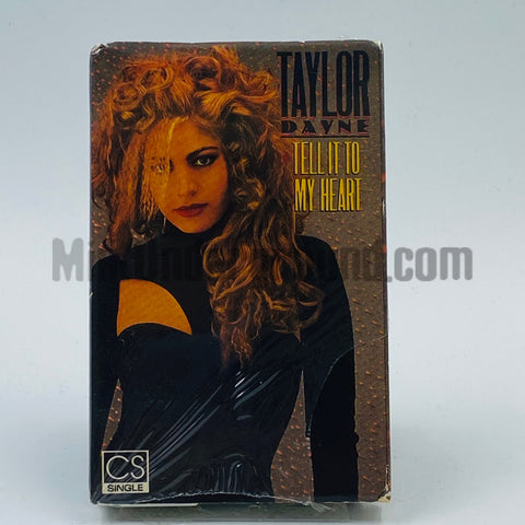 Taylor Dayne: Tell It To My Heart: Cassette Single