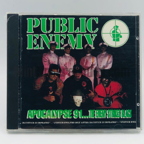 Public Enemy: Apocalypse 91...The Enemy Strikes Black: CD