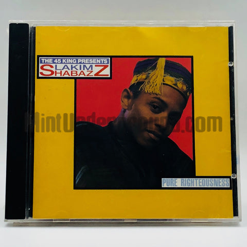 Lakim Shabazz: Pure Righteousness: CD