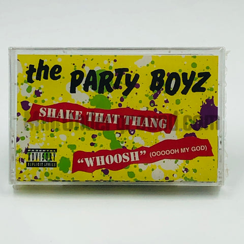"The Party Boyz: Shake That Thang ""Woosh""/PB Quad: Cassette Single"