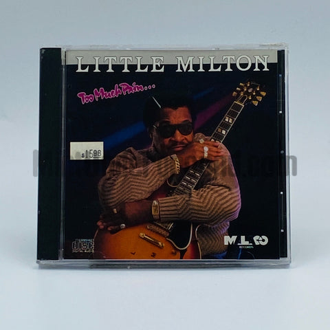 Little Milton: Too Much Pain: CD