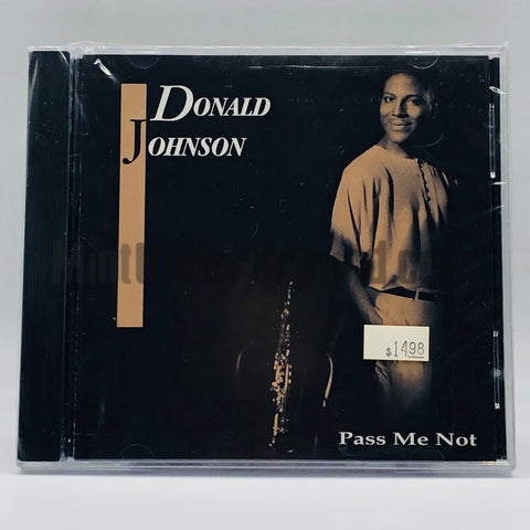 Donald Johnson: Pass Me Not: CD