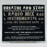 Q-Tip: Breathe And Stop: CD Single: Promo
