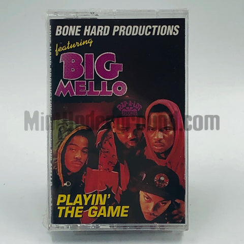 Bone Hard Productions Featuring Big Mello: Playin The Game: Cassette Single