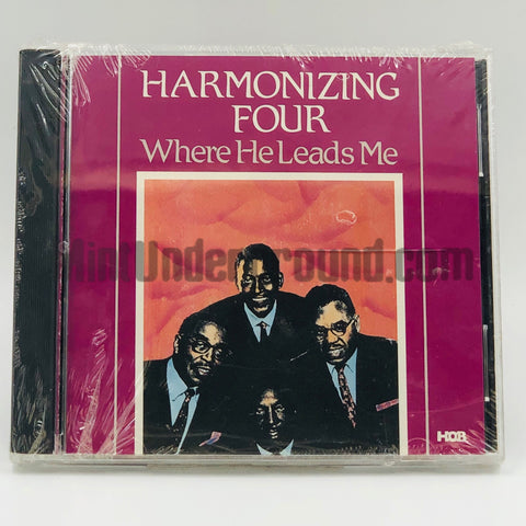 Harmonizing Four: Where He Leads Me: CD