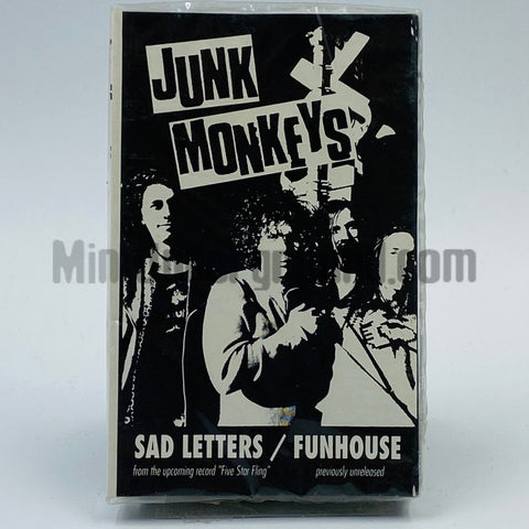Junk Monkeys/ Goo Goo Dolls: Sad Letters/ There You Are: Cassette Single