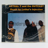 Lethal T And The Outcast: Death By Lethal's Injection: CD