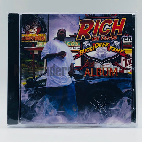 Rich The Factor: Bucks Over Fame: Album: CD