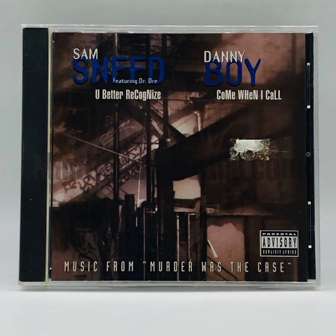 Sam Sneed: U Better Recognize/ Danny Boy: Come When I Call: CD Single