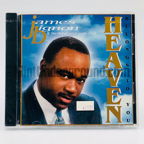 James Bignon & The Deliverance Mass Choir: Heaven Belongs To You: CD