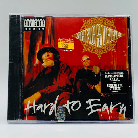 Gang Starr: Hard To Earn: CD