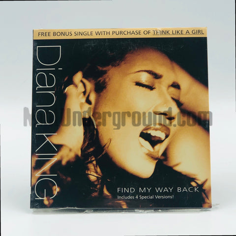 Diana King: Find My Way Back: CD Single