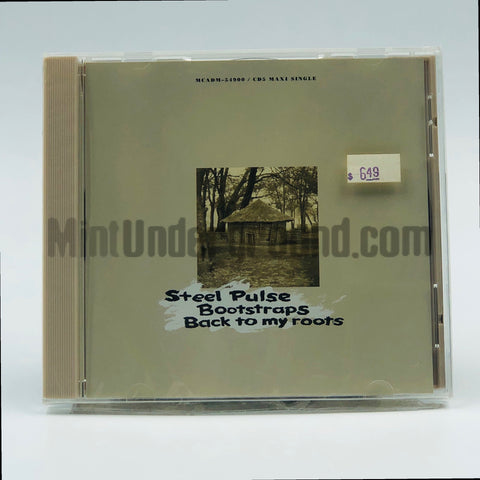 Steel Pulse: Bootstraps/Back To My Roots: CD Single