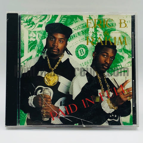 Eric B. & Rakim: Paid In Full: CD