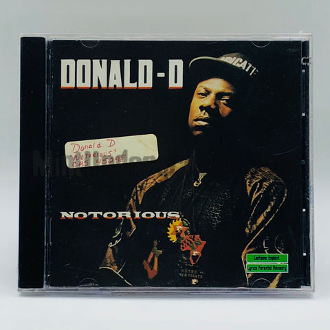 Donald-D: Notorious: CD