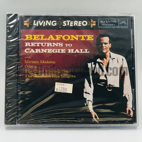 Harry Belafonte: Belafonte Returns To Carnegie Hall: CD