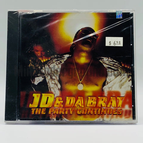 JD feat. Da Brat: The Party Continues/We Just Wanna Party: CD Single