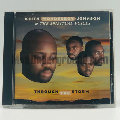 "Keith ""Wonderboy"" Johnson & The Spiritual Voices: Through The Storm: CD"