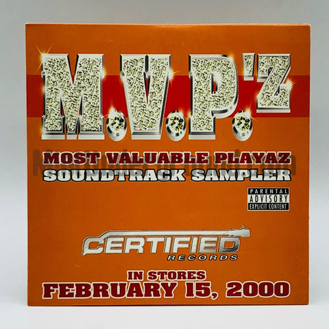 Various Artists: M.V.P.'z Most Valuable Playaz Soundtrack Sampler: CD: Promo