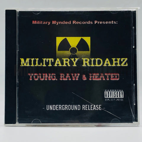 Military Ridaz: Young, Raw, & Heated: CD