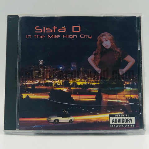 Sista D: In The Mile High City: CD