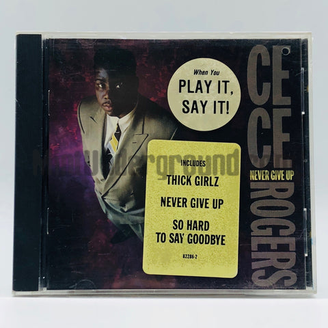 CeCe Rogers: Never Give Up: CD