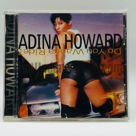 Adina Howard: Do You Wanna Ride: CD