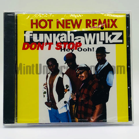 Funkahawlikz: Don't Stop: CD Single
