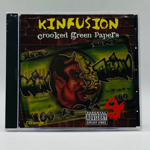 Kinfusion: Crooked Green Papers: CD Single