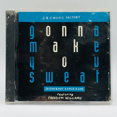 C+C Music Factory: Gonna Make You Sweat (Everybody Dance Now): CD Single